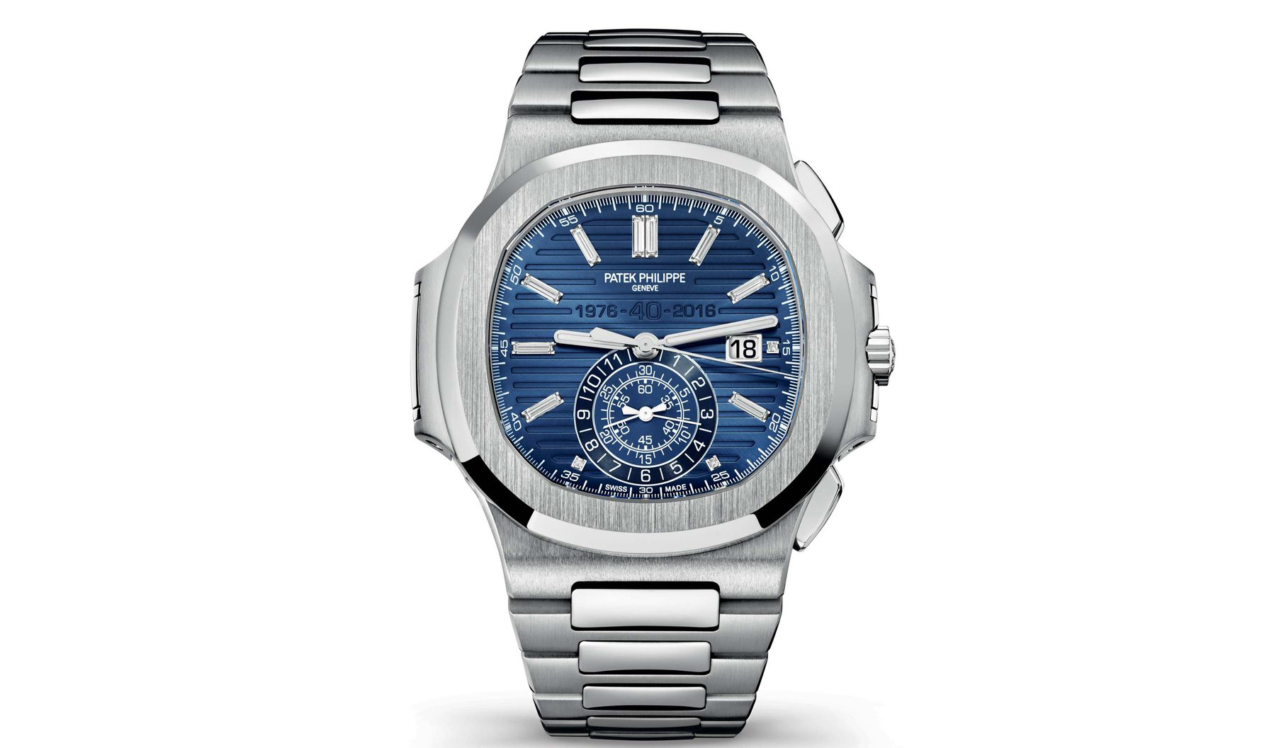Patek Nautilus 40th Anniversary Luxury Pulse Watches For Sale