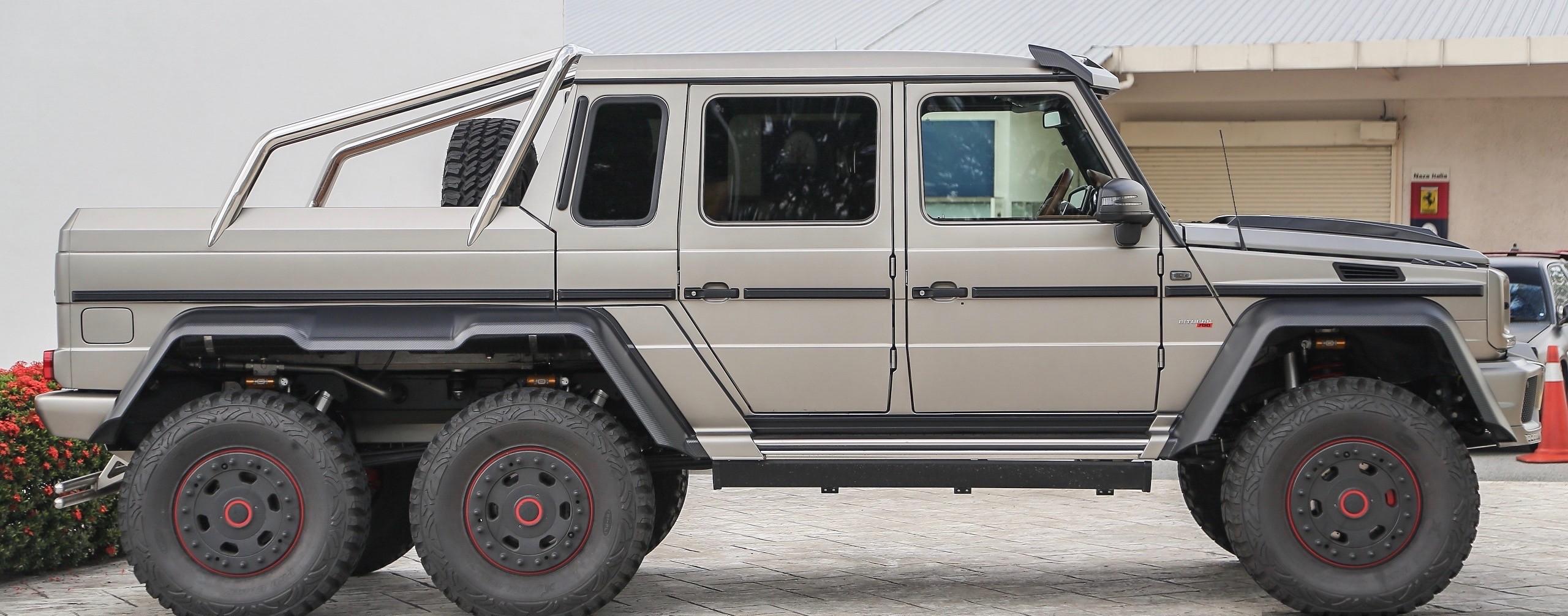 Mercedes Brabus G700 B63 S 6x6 Luxury Pulse Cars Germany For Sale On Luxurypulse