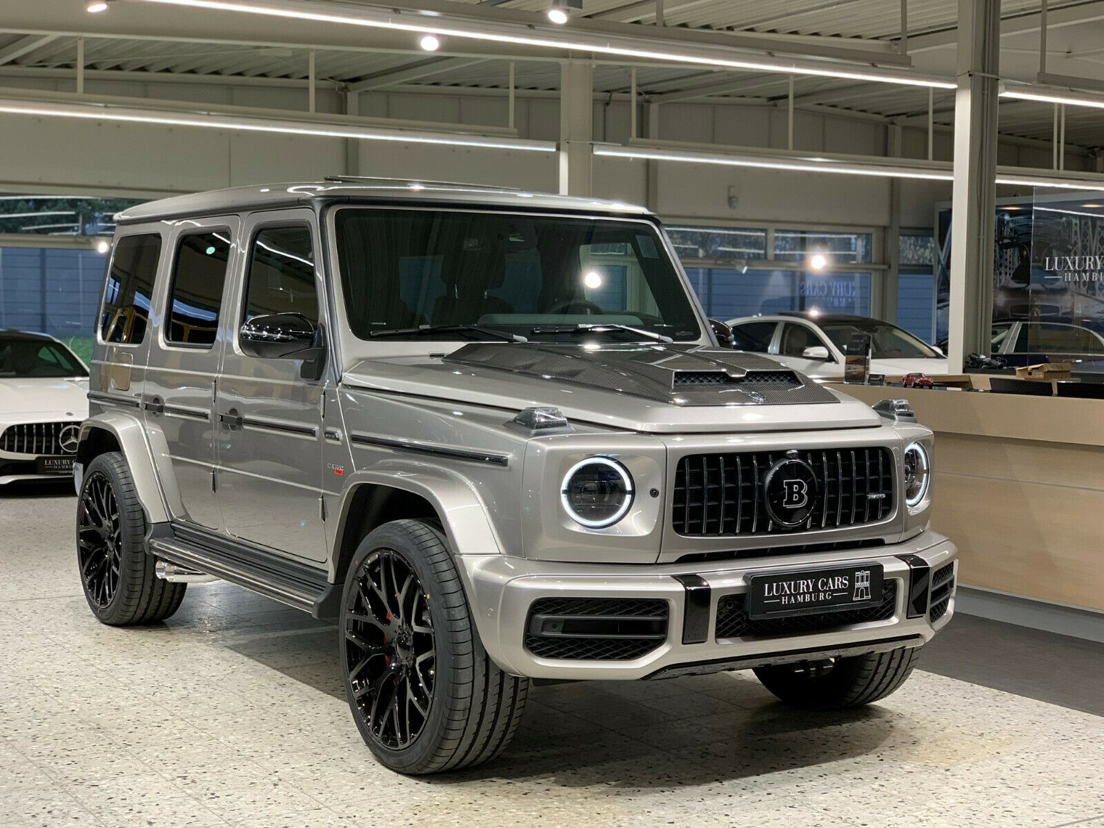 Mercedes Benz G 63 Amg 2019 Brabus G 700 Luxury Pulse Cars Germany For Sale On Luxurypulse