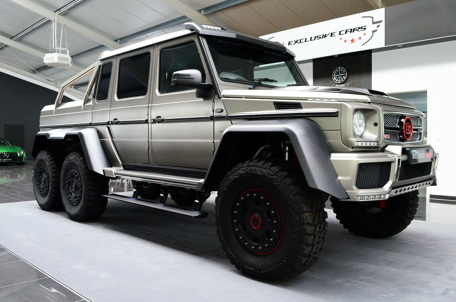 Mercedes-Benz G 63 AMG 6x6 Brabus700 Limited Edition 1of15 ...