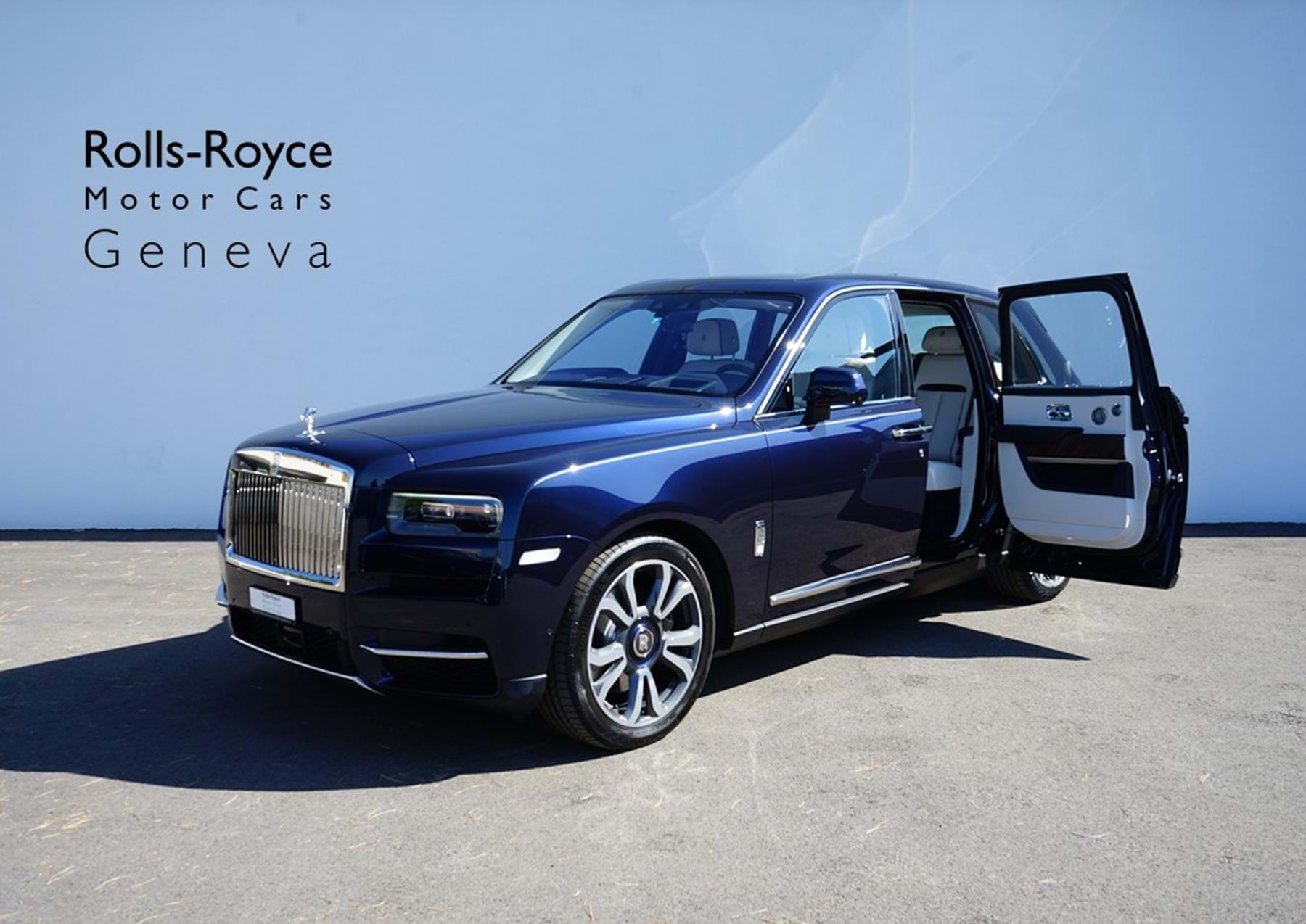 Rolls Royce Cullinan Midnight Sapphire Pegasus Automotive Switzerland For Sale On Luxurypulse