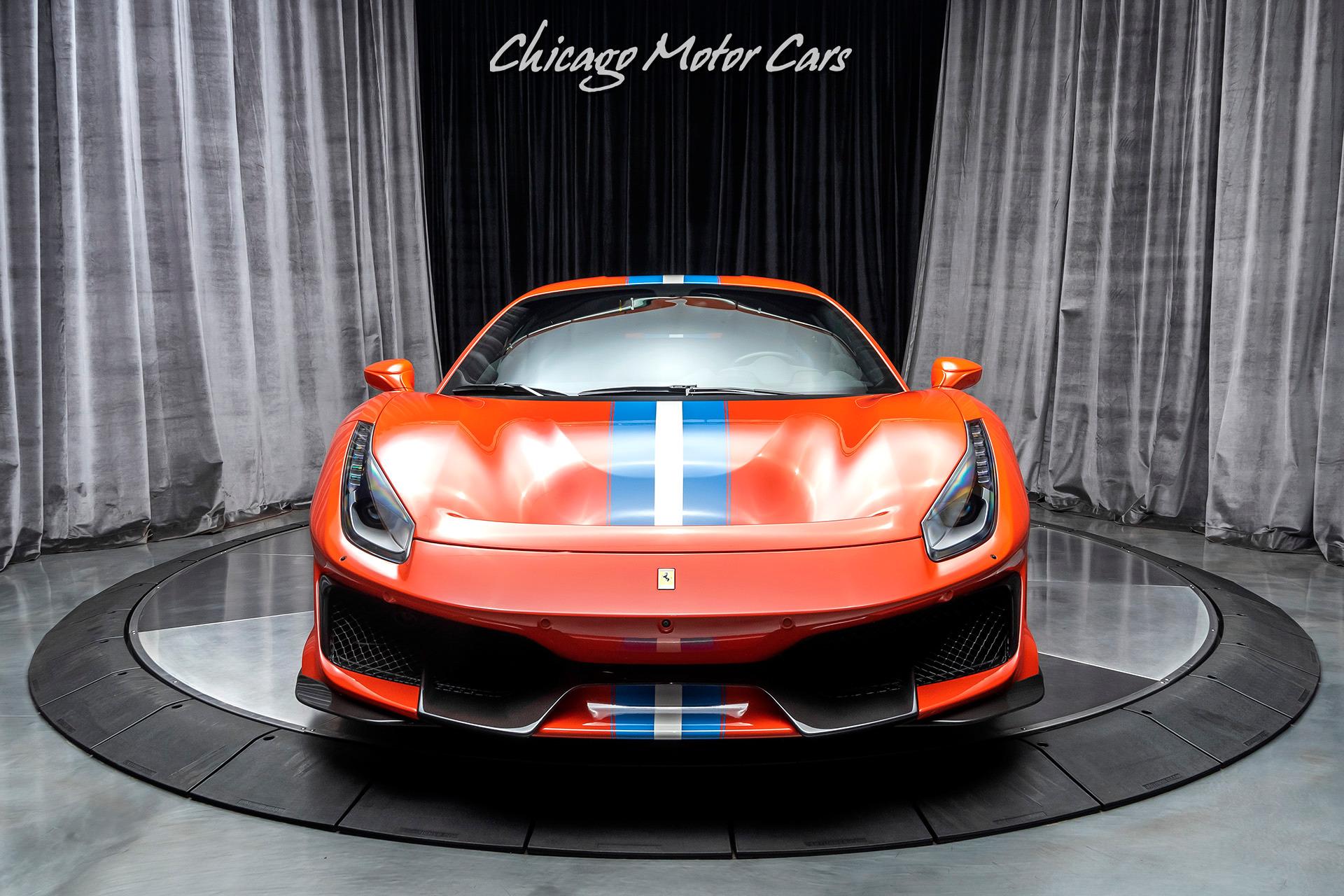 For Sale 2019 Ferrari 488 Pista Chicago Motor Cars United States For Sale On Luxurypulse