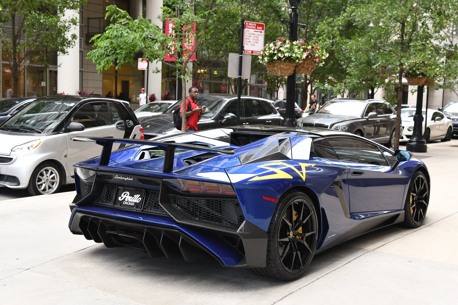lamborghini aventador sv roadster lp chicago exotic luxurypulse