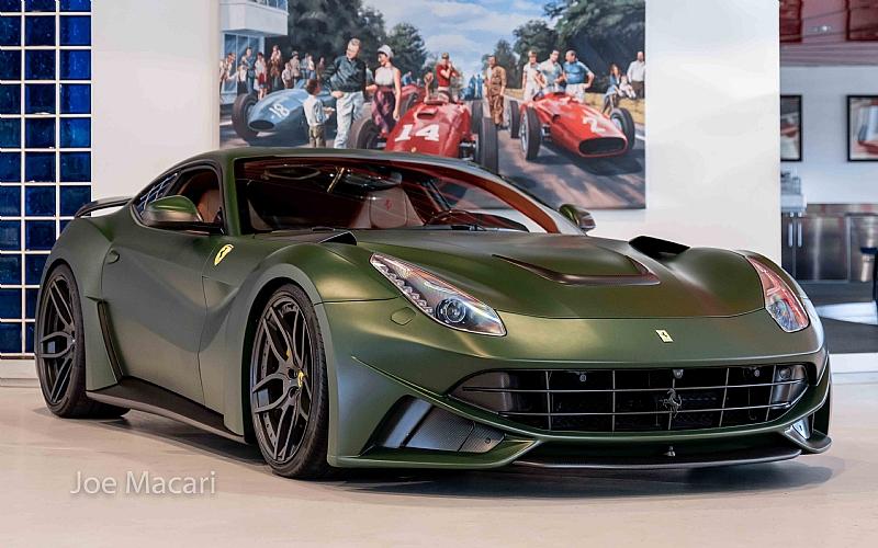 Ferrari F12 Novitec N Largo Joe Macari United Kingdom For Sale On Luxurypulse